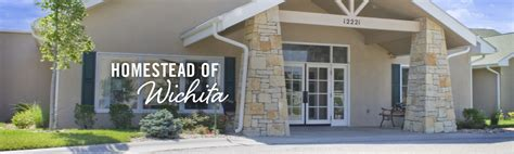 homestead of wichita memory care in wichita ks