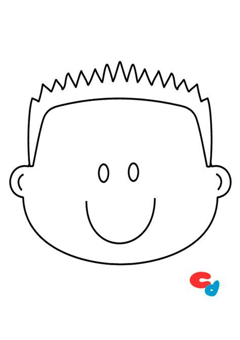 partes de la cara dibujo para colorear dibujo de cara de ni 241 o para colorear 187 colorear dibujos