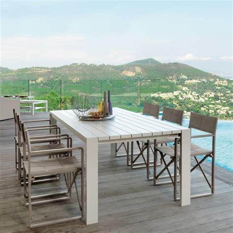 tavolo da esterni tavolo da esterni in alluminio estoril arredaclick