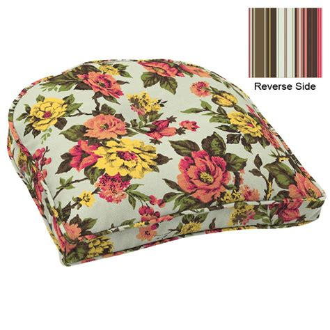 country seat cushions country living wicker chair cushion aliva outdoor