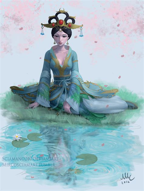 Smite Giveaway 2017 - chang e smite giveaway by sciamano240 on deviantart