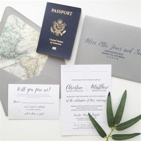 1000 ideas about passport wedding invitations on passport invitations destination