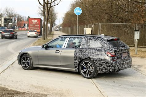 New Bmw 3 Series Touring 2020 by 2020 Bmw 3 Series Touring Spied Winter Testing With M