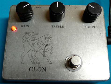 big knob clon klon centaur clone electric guitar effects