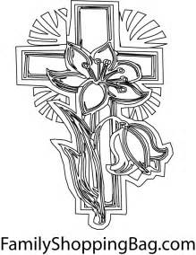 color cross free coloring pages of cross for adults