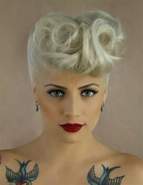 short hairstyles in the 50s 40 short rockabilly hairstyles for women and men hum ideas
