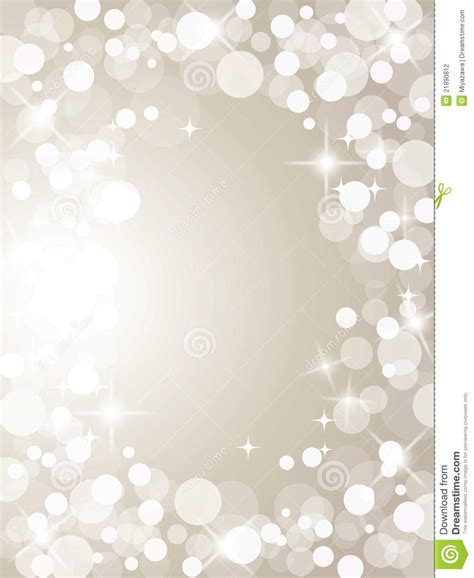 christmas silver lights stock photography image 21890812