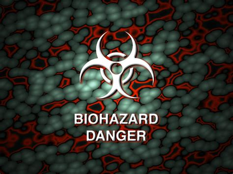 biohazard danger ppt backgrounds biohazard danger ppt
