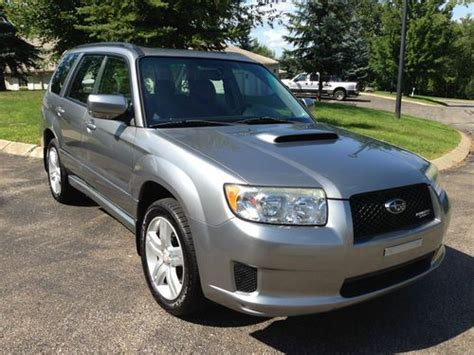 2007 subaru forester type purchase used 2007 subaru forester xt sports fsxt turbo