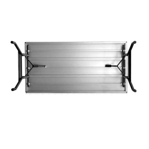 alulite aluminum folding table southern aluminum aluminum alulite folding table 36 quot x 60