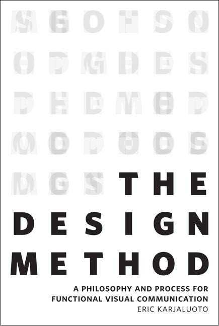 visual communication design methods karjaluoto design method the a philosophy and process
