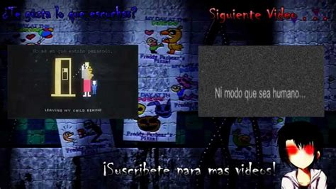 mensajes subliminales five nights at freddy s 2 five nights at freddy s 2 mensaje subliminal en el trailer