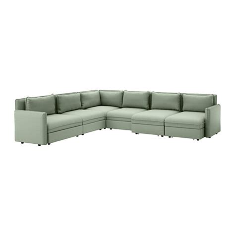 ikea small corner sofa vallentuna 6 seat corner sofa with bed hillared green ikea