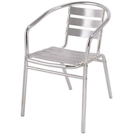 Aluminium Dining Chairs Aluminum Stacking Chair