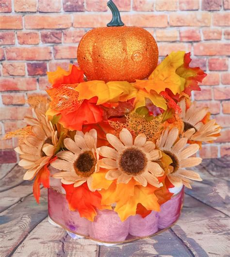3 quick fall decorating tips total mortgage blog fall diaper cake what to expect when you re expecting