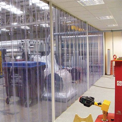 pvc strip curtain pvc strip curtains hanging rails soozone
