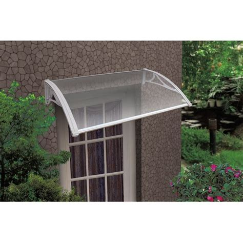 Outdoor Awnings For Windows by Byron Outdoor Window Awning White Brackets 120x80cm Buy