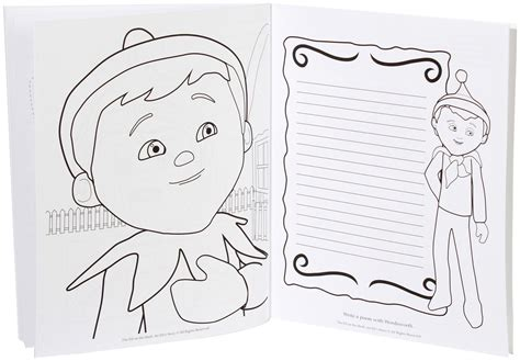 boy elf on the shelf coloring pages elf on a shelf coloring pages coloring home