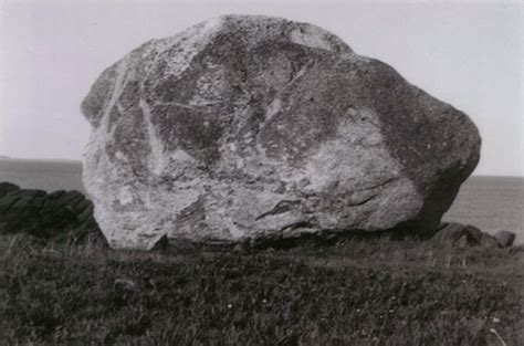 one perched on a rock a biography of dr warren carroll books popplestone rock perched on the island s eastern edge