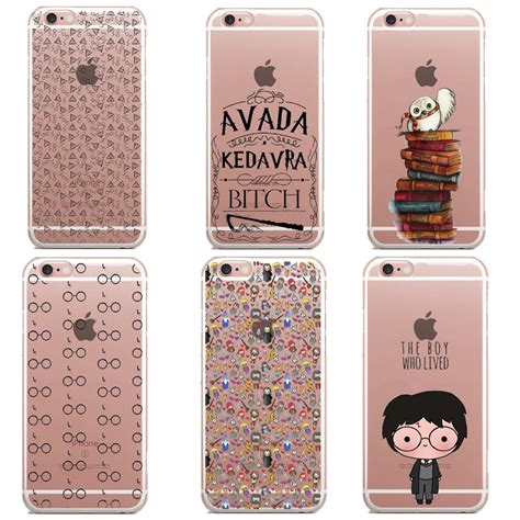Harry Potter Quote Casing Iphone 7 6s Plus 5s 5c 4s Samsung 50 harry potter glasses owl hedwig book soft silicone phone cases for iphone 6 6s 5 5s se 7 7plus