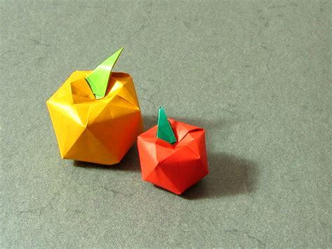 Apple Origami - apples shuzo fujimoto happy folding