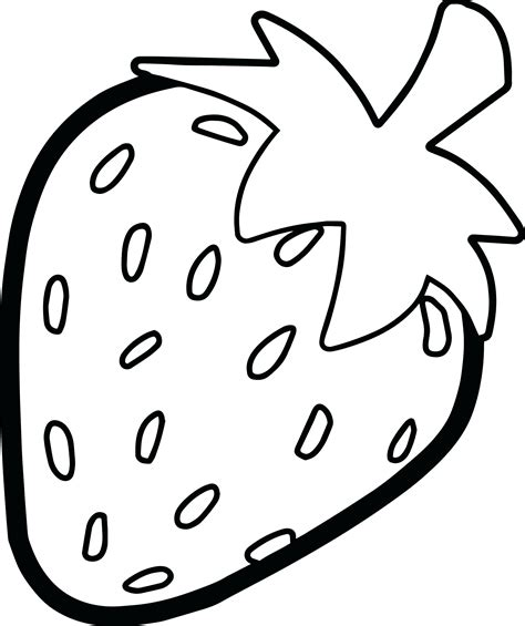 strawberry color unique strawberry coloring pages collection printable