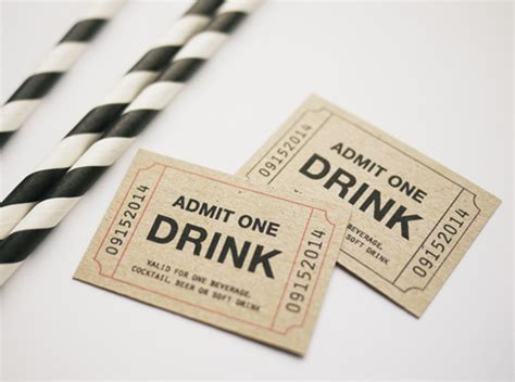 printable drink tickets 30 free printables for your next cocktail party brit co