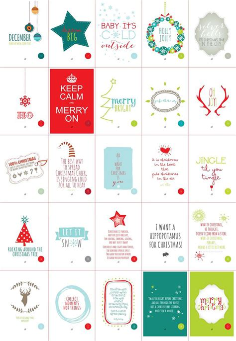 printable free 2015 advent calendars for kids calendar