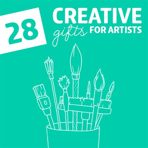 Creative Gifts For - 28 wonderfully creative gifts for artists dodo burd