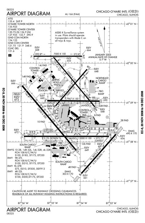 o hare runway diagram o hare international airport
