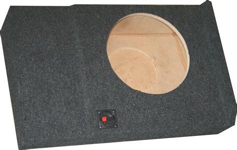 Speaker Box Gmc chevy silverado gmc crew cab 07 13 single subwoofer box
