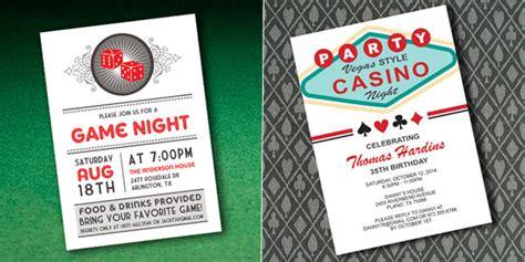 Casino Invitations Template Best Template Collection Casino Invitation Template Free