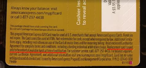Americanexpress Gift Card Balance - when an amex gift card winds up in the wrong hands truth in advertising