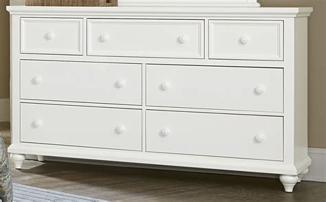 Nantucket Dresser nantucket soft white 7 drawer dresser 374 002 vaughan bassett