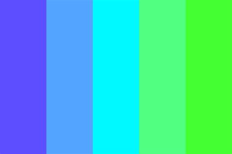blue green colors blue green gradient color palette