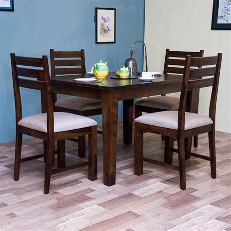 dining table bangalore rent riga 4 seater dining table with chairs in bangalore