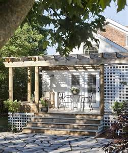 Pergola Against House by Nestquest Cool Pergolas That Will Inspire Your Outdoor Oasis