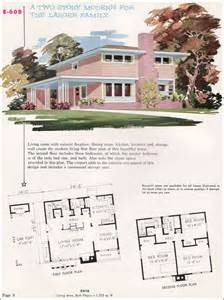 Mid Century House Plans by Mid Century Modern House Plans 1955 National Plan