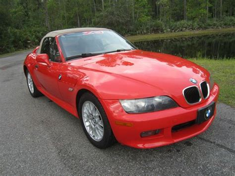 Used Cars Port Orange Florida by Buy Used 2002 Bmw Z3 Roadster Convertible 2 Door 2 5l In