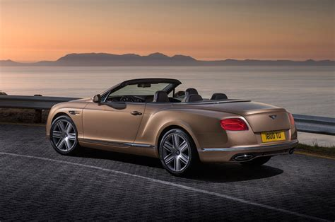 bentley continental convertible 2016 bentley continental gt convertible rear three quarter