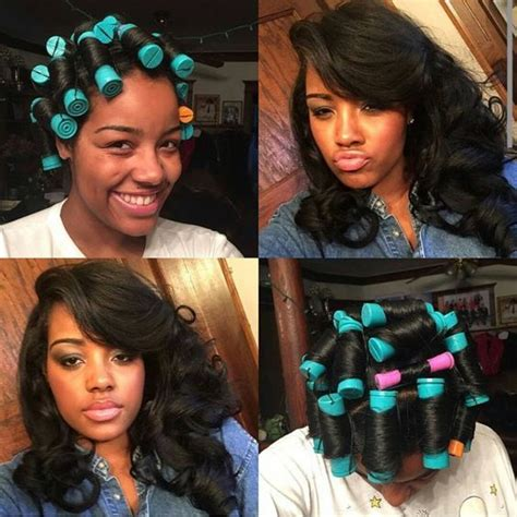 perm rods on weave 24 best images about straight natural hair on pinterest