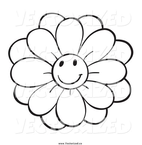 clipart of flowers coloring pages white flower clipart flower coloring pencil and in color