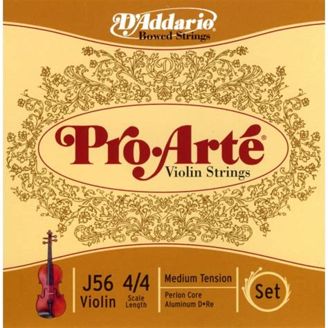 D Addario Pro Arte Strings - d addario pro arte violin strings the strings family