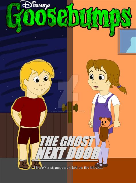 everything wrong with goosebumps tv show one day at disney s goosebumps the ghost next door by jackassrulez95