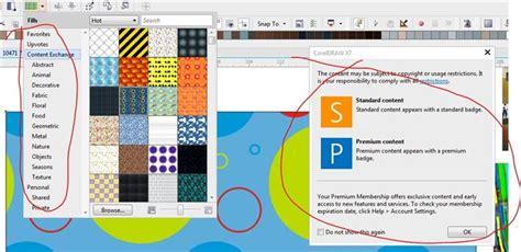 pattern fill corel draw x7 fill tool fail coreldraw x7 coreldraw graphics suite