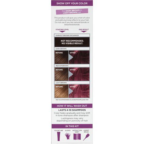 loreal semi permanent hair color l or 233 al colorista semi permanent hair color for
