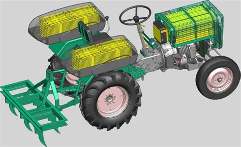 Intelligent Electronic Said multi powered electric tractor create the future design