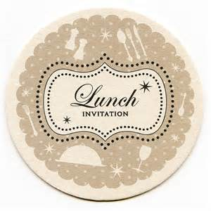 lunch coaster invitations by aliroo notonthehighstreet com