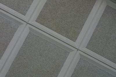 Interlocking Ceiling Tiles by How To Replace A Middle Interlocking Ceiling Tile Home
