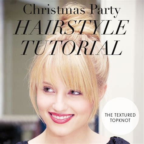 hairstyles for xmas party 2013 day 1 christmas party hairstyle tutorial the textured